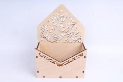 Кашпо (А) Ящик конверт для цветов №13  (Цвет Бесцветный )Я013бесц