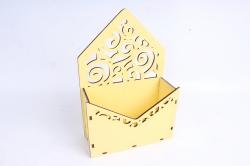 Кашпо (А) Ящик конверт для цветов №11(Цвет Желтый )Я011ж