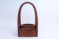 Кашпо деревянное (И) Прямоугольник Нежность полисандр
