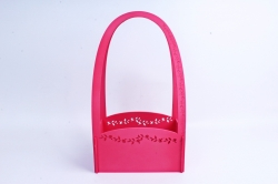 Кашпо деревянное (И) Прямоугольник Нежность розовое