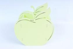 Кашпо деревянное (И) Яблоко нежный луг