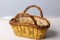 Кашпо  плетеное декоративное