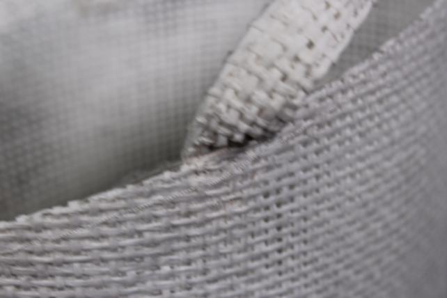 кашпо -сумка из бумажной сетки 17x12 h=15/26cm белое