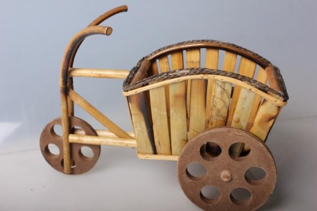 Кашпо  Велосипед с тачкой
