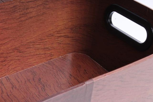 Кашпо-коробка Прямоугольник Цветочница Коричневый,  (W7065) 8023