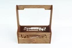 Кашпо-ящик (С) для цветов  1 сентября Дуб