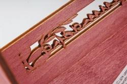 Кашпо-ящик (С) для цветов  1 сентября Махагон
