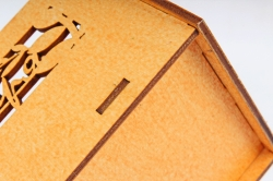 Кашпо-ящик (С) для цветов  1 сентября Оранжевый