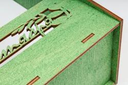 Кашпо-ящик (С) для цветов  1 сентября Зеленый