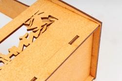 Кашпо-ящик (С) для цветов  День знаний Оранжевый