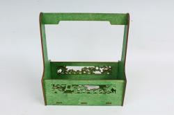 Кашпо-ящик (С) для цветов  День знаний Зеленый