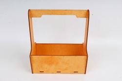 Кашпо-ящик (С) для цветов  Оранжевый