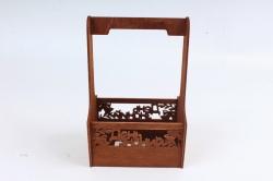 Кашпо-ящик (С)  для цветов  День знаний Орех