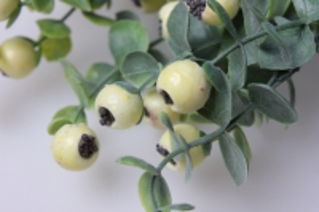 кизил белый ветка 30см 1536 искусственные растения