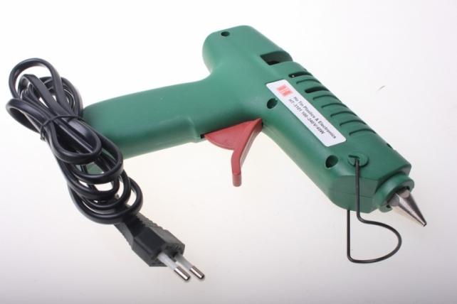 клеевой пистолет клеевой пистолет. клеевой пистолет для рукоделия в пластиковой коробке (1,27 см) 1569