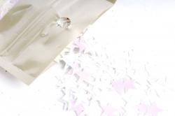 Конфетти 2cm, 15г, в асс., белый Звезда  CAA005130(А)