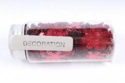 Конфетти, 40г, в асс., красный  Снежинка AWR100020(А)