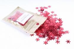 Конфетти 2cm, 15г, в асс., красный  Снежинка CAA005120(А)