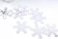 Конфетти, 40г, в асс., серебро  Снежинка AWR100010(А)