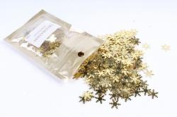Конфетти 2см, 15г, в асс., золото  Снежинка CAA005100(А)