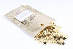 Конфетти 2см, 15г, в асс., золото  Звезда CAA005100(А)