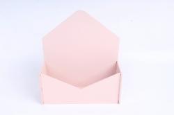 Конверт малый МДФ 3мм, окрашен., Пудровый, ПУ302-02-4545