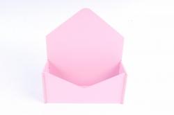 Конверт малый   МДФ 3мм, окрашен., Розовый, ПУ302-02-0505