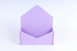 Конверт малый  МДФ 3мм, окрашен., Сиреневый, ПУ302-02-0909