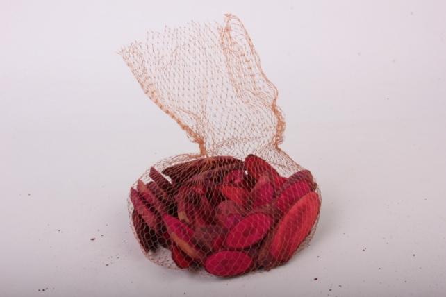кора срез косой малиновый в сетке