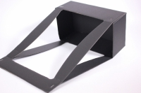 Коробка-кашпо под Цветы прямоугольная Черная (10шт/уп)