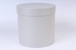 """Коробка одиночная подарочная - """"Цилиндр"""" Серебро 20*20  Пин20/20-СР"""