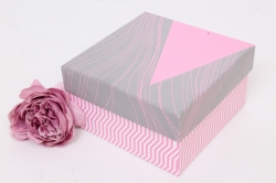 Коробка одиночная подарочная - Квадрат  Универсальный 12*12*7см 1шт 460000071099