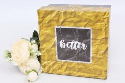 Коробка одиночная подарочная - Квадрат  Универсальный  16*16*9см 1шт 460000071710