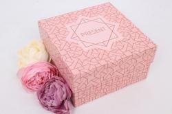 Коробка одиночная подарочная - Прямоугольник  Универсальный 14*14*8см 1шт 460000071810
