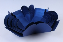 Коробка подарочная (1шт) Трансформер с сюрпризом куб Синий  М16