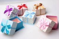 Коробка подарочная (6шт в упак.) (цена за 1 шт) цвета в ассортименте