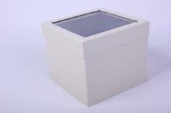 Коробка подарочная одиночная - Куб трансформер Шампань  Р15