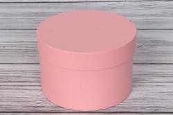 Коробка подарочная одиночная 1шт - Цилиндр Розовый перламутр 18*12  Пин18/12-РП