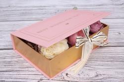 Коробка подарочная одиночная 1шт - Книга пудра 22*15*5см В178