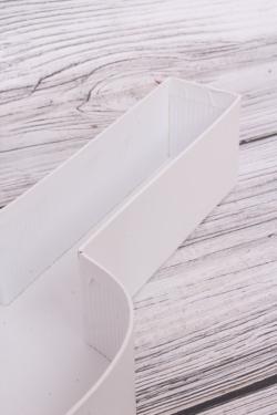 Коробка подарочная одиночная 1шт - Скрипка белая 45*19*5.5см В278