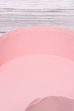 Коробка подарочная одиночная 1шт - Скрипка розовая 45*19*5.5см В278