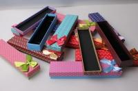 """Коробка подарочная """"Пенал"""" (12шт в упак.) (цена за 1 шт) цвета в ассортименте"""