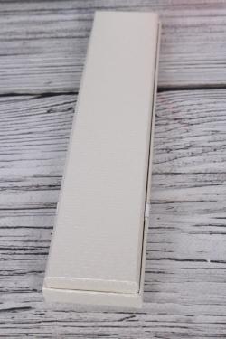 Коробка ювелир. Тиснение с бантом пенал 4,5*20*2,5 12 шт/уп 10021-82A М