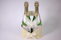 Корзина для шампанского с ручкой - шампань (16)