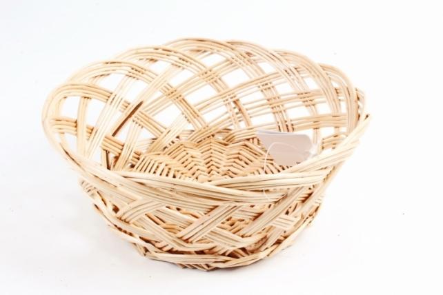 Корзина плетеная без ручки (ива)      (КС-117)