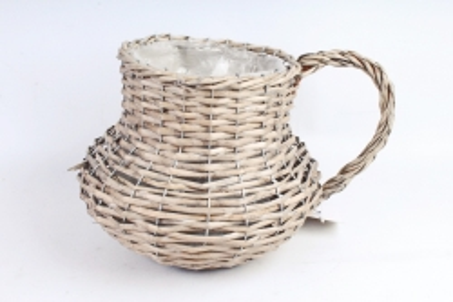 Корзина плетеная (ива), 1 шт., натуральный  3706
