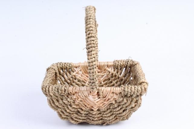 Корзина плетеная (ива) 1шт-  Овал   1504