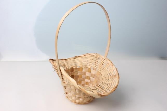 Корзина плетеная Шляпа (бамбук) натуральная 3746