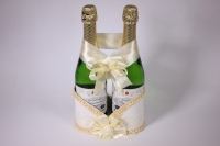 Корзина под шампанское - бело/шампань (1)