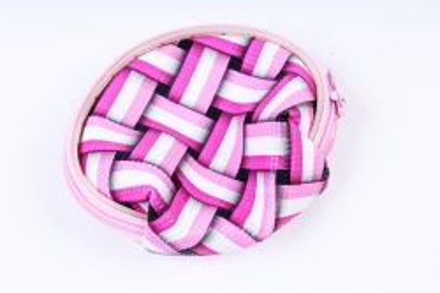 Кошелек круглый 7см (357,356) цвета в ассортименте (1шт)